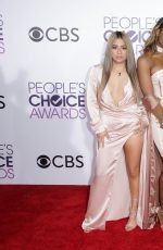 FIFTH HARMONY at 43rd Annual People's Choice Awards in Los Angeles 01/18/2017