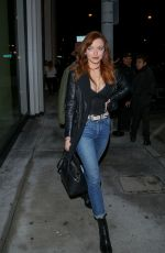 FRANCESCA EASTWOOD at Catch LA in West Hollywood 01/20/2017