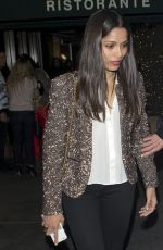 FREIDA PINTO Night Out in West Hollywood 01/21/2017