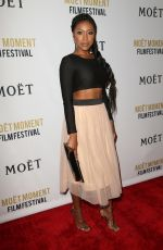 GABRIELLE DENNIS at Moet Moment Pre Golden Globe Party in Los Angeles 01/04/2017