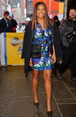 GABRIELLE UNION at Good Morning America Studio in New York 01/10/2017