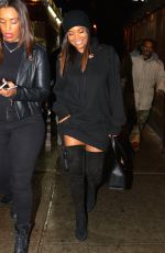 GABRIELLE UNION Night Out in New York 01/10/2017