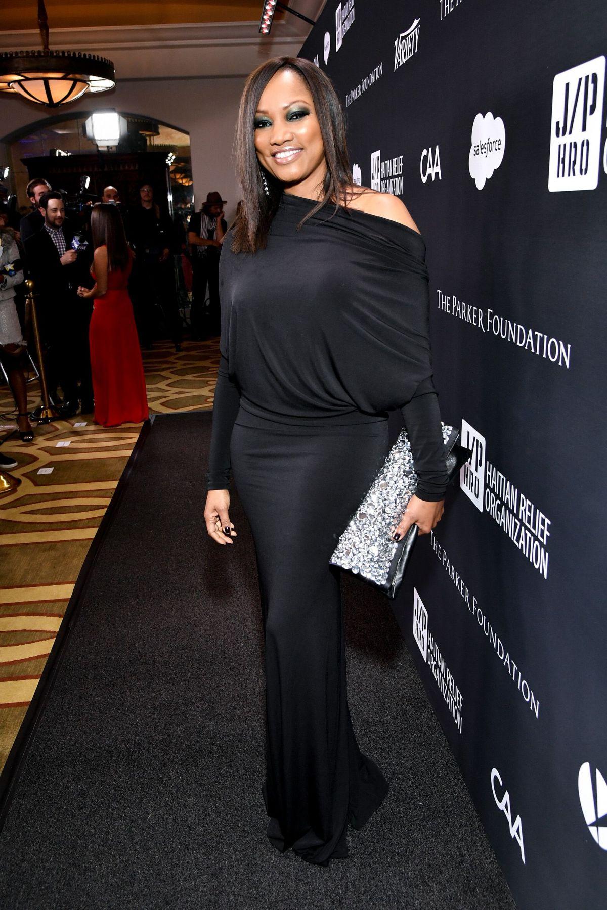 GARCELLE BEAUVAIS at 6th Annual Sean Penn & Friends Haiti Rising Gala in Beverly Hills 01/07/2017