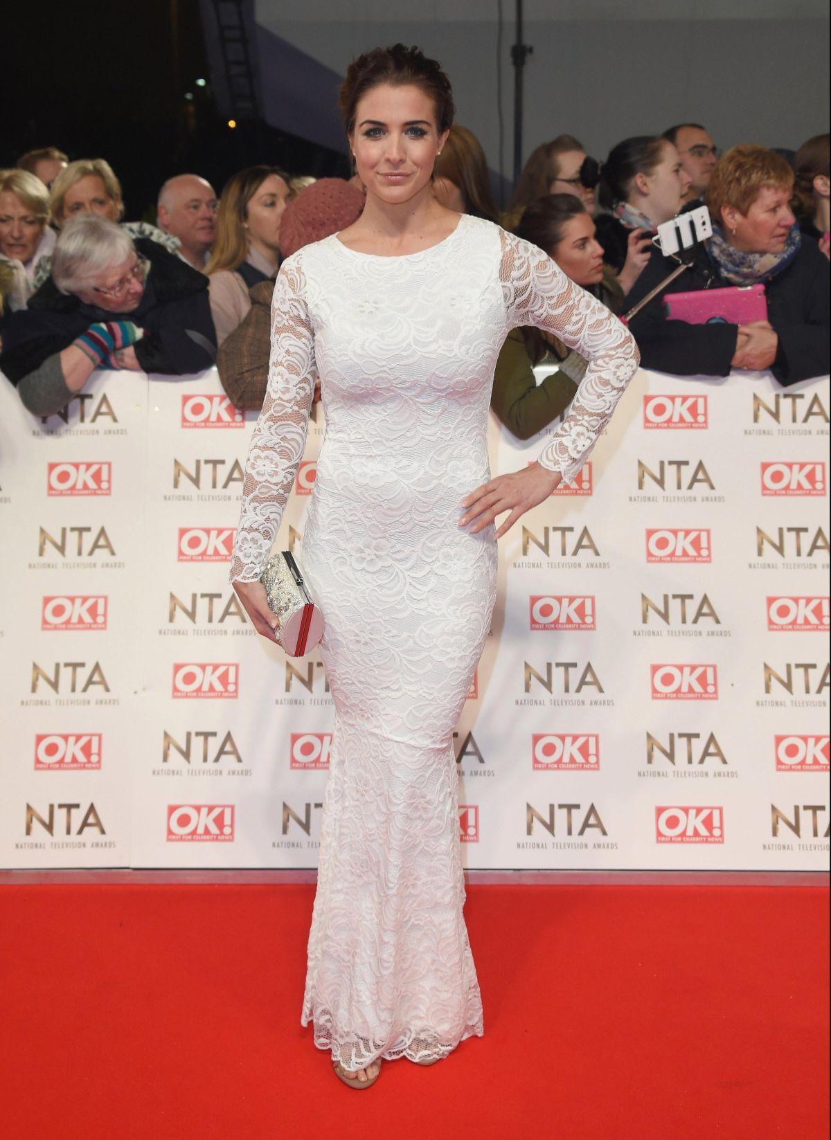 GEMMA ATKINSON at National Television Awards in London 01/25/2017