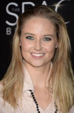 GENEVIEVE MORTON at 'The Space Between Us' Premiere in Los Angeles 01/17/2017