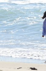 GEORGIA MAY FOOTE on the Beach in Malibu 01/28/2017