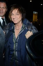 GIANNA NANNINI at Fendi Fashion Show in Milan 01/16/2017