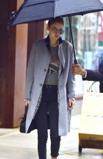 GIGI HADID Leaves Her Apartment in New York 01/24/2017