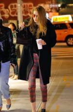 GIGI HADID Night Out in New York 01/21/2017