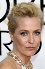 GILLIAN ANDERSON at 74th Annual Golden Globe Awards in Beverly Hills 01/08/2017