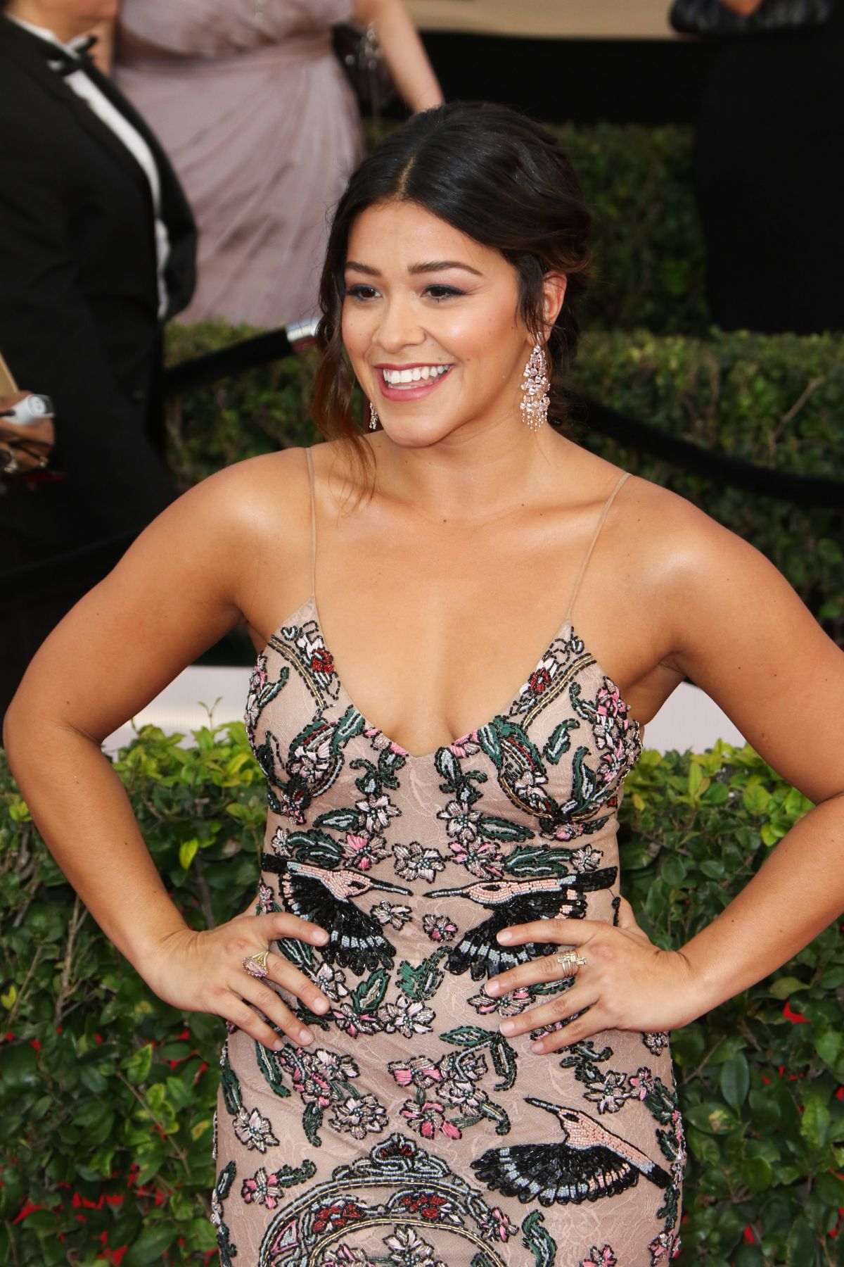 GINA RODRIGUEZ at 23rd Annual Screen Actors Guild Awards in Los Angeles 01/29/2017
