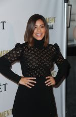 GINA RODRIGUEZ at 2nd Annual Moet Moment Film Festival in West Hollywood 01/04/2017
