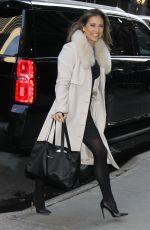 GINGER ZEE Out and About in New York 01/16/2017
