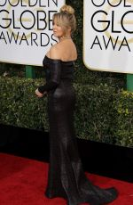 GOLDIE HAWN at 74th Annual Golden Globe Awards in Beverly Hills 01/08/2017