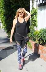 GOLDIE HAWN Out and About in Brentwood 01/06/2017