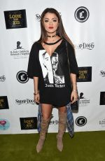 GOLNESA GHARACHEDAGHI at Louie the XIII Launch Party in Los Angeles 01/04/2017