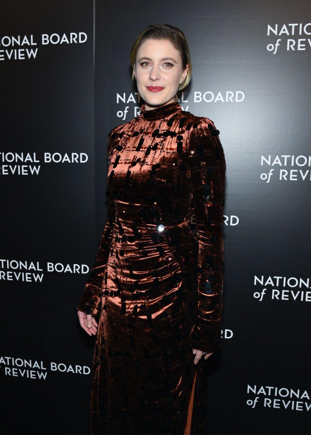 GRETA GERWIG at 2016 National Board of Review Gala in New York 01/04/2017