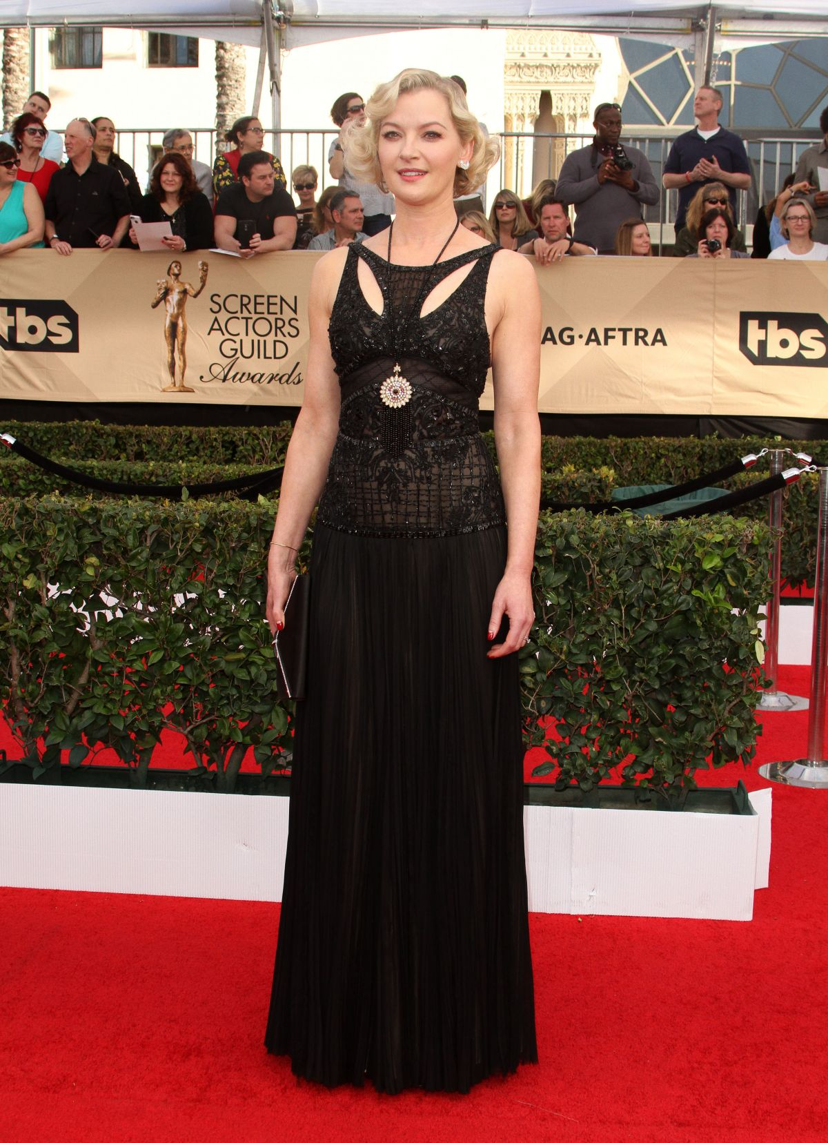 GRETCHEN MOL at 23rd Annual Screen Actors Guild Awards in Los Angeles 01/29/2017