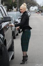 GWEN STEFANI Out and About in Los Angeles 01/15/2017