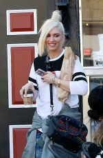 GWEN STEFANI Out and About in Solvang 01/29/2017