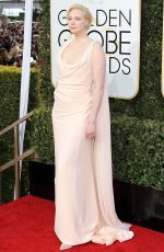 GWENDOLINE CHRISTIE at 74th Annual Golden Globe Awards in Beverly Hills 01/08/2017