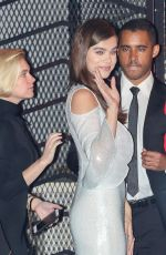 HAILEE STEINFELD at CAA Golden Globes Party at Sunset Tower Hotel in Los Angeles 01/08/2017