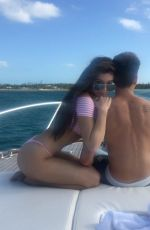 HAILEE STEINFLED in Bikini at a Boat, Instagram Pictures