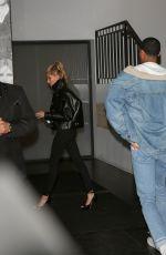 HAILEY BALDWIN adn Jordan Clarkson Leaves Catch LA in West Hollywood 01/19/2017