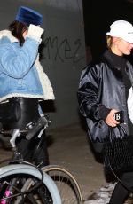 HAILEY BALDWIN and KENDALL JENNER Night Out in New York 01/15/2017