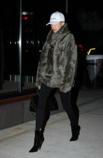 HAILEY BALDWIN Out and About in New York 01/15/2017