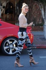 HAILEY BALDWIN Out and About in West Hollywood 01/24/2017