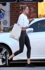 HAILEY BALDWIN Out in West Hollywood 01/25/2017