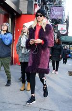 HAILEY CLAUSON Out and About in New York 01/16/2017