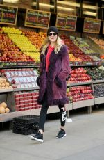 HAILEY CLAUSON Out Shopping in New York 01/16/2017