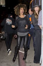 HALLE BERRY Night Out in Los Angeles 01/10/2017