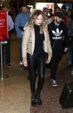 HALSTON SAGE Arrives in Salt Lake City 01/22/2017