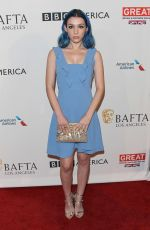 HANNAH MARKS at Bafta Tea Party in Los Angeles 01/07/2016