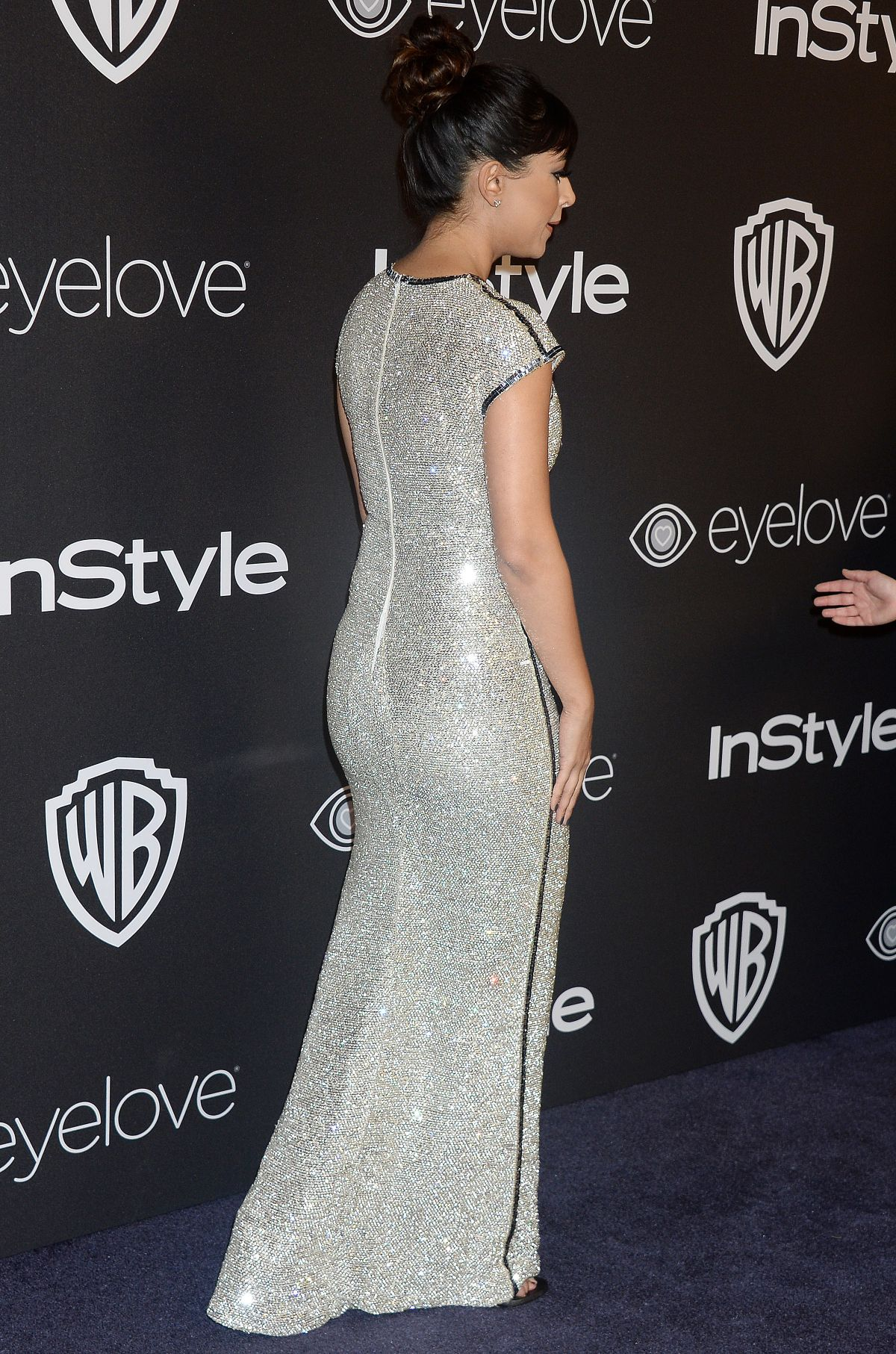 HANNAH SIMONE at Warner Bros. Pictures & Instyle's 18th Annual Golden Globes Party in Beverly Hills 01/08/2017