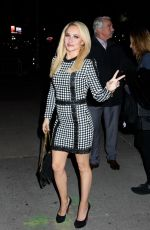 HAYDEN PANETTIERE Arrives at Late Show with Stephen Colbert in New York 01/05/2017