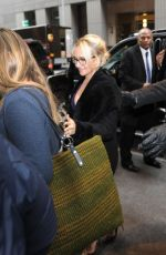 HAYDEN PANETTIERE Arrives Back to Her Hotel in New York 01/05/2017
