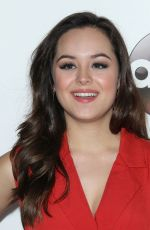 HAYLEY ORRANTIA at Disney/ABC 2017 Winter TCA Tour in Pasadena 01/10/2017