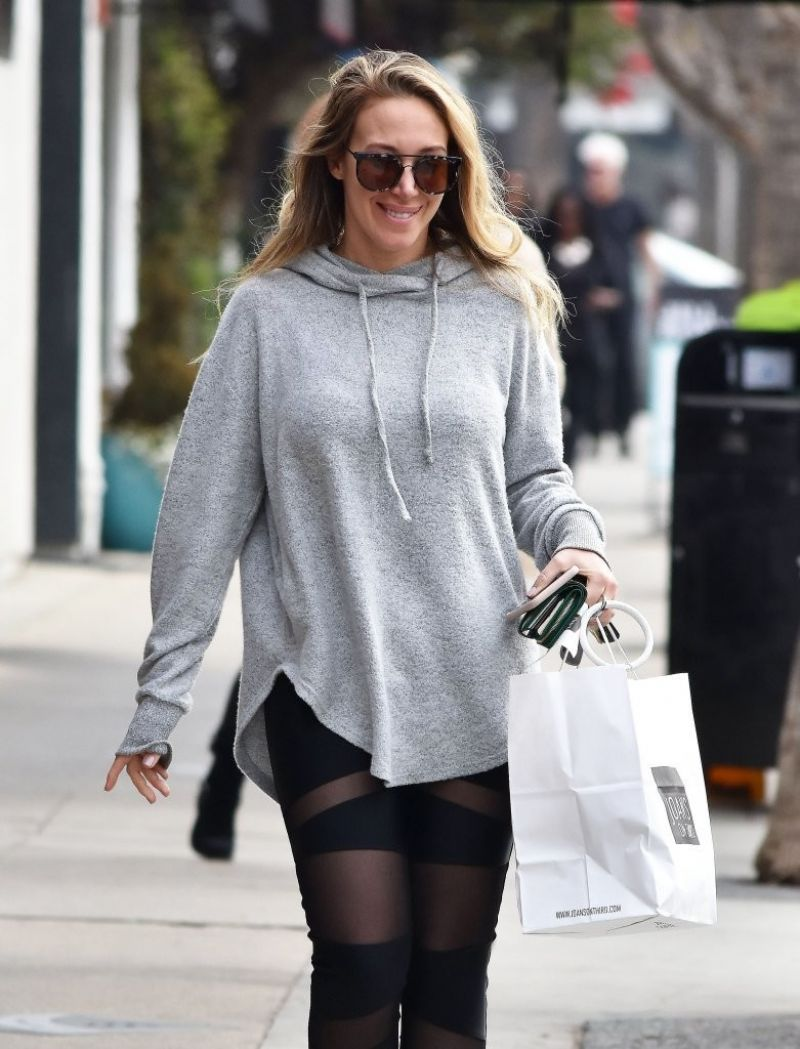 HAYLIE DUFF Out and About in Studio City 01/18/2017