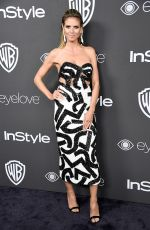 HEIDI KLUM at Warner Bros. Pictures & Instyle's 18th Annual Golden Globes Party in Beverly Hills 01/08/2017