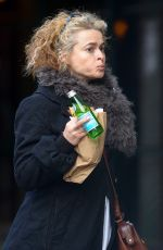 HELENA BONHAM CARTER Out and About in New York 01/13/2017