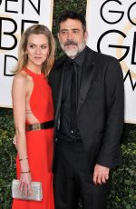 HILARIE BURTON at 74th Annual Golden Globe Awards in Beverly Hills 01/08/2017