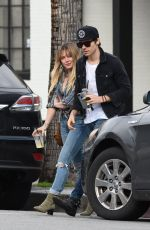HILARY DUFF and Matthew Koma Out in Beverly Hills 01/19/2017