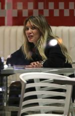 HILARY DUFF at Froyo Life in Beverly Hills 01/23/2017