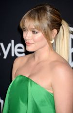 HILARY DUFF at Warner Bros. Pictures & Instyle's 18th Annual Golden Globes Party in Beverly Hills 01/08/2017