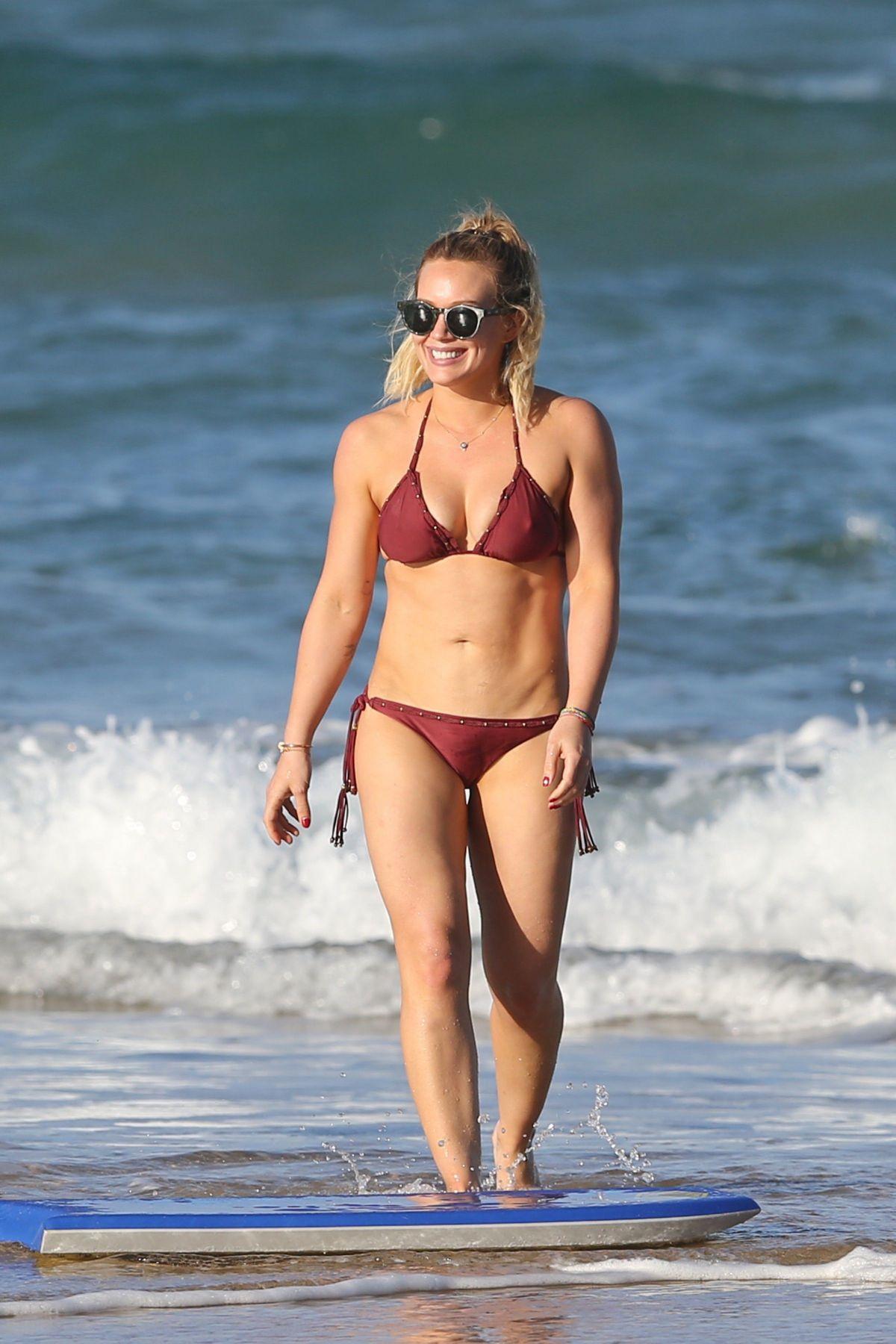 Hillary Duff In Bikini