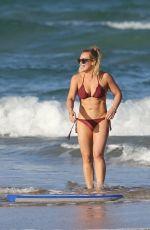 HILARY DUFF in Bikini at a Beach in Hawaii 01/01/2017